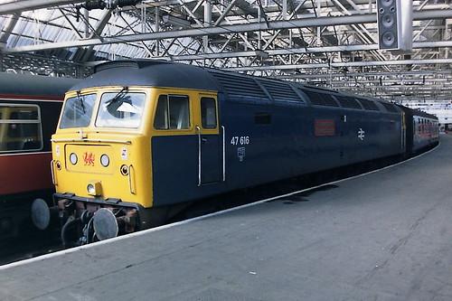 BRITISH RAIL 47616 Y Ddraig Goch/THE RED DRAGON