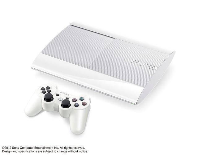 Sony PlayStation 3 (Super Slim) - Classic White