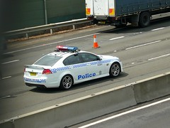 2010 Holden VE Commodore SS - NSW Police