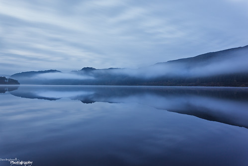 Mist On Thirlmere by Dave Brightwell