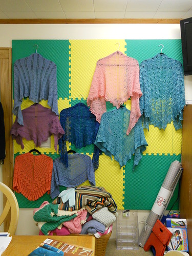 The Blocking Wall Knit N Purl