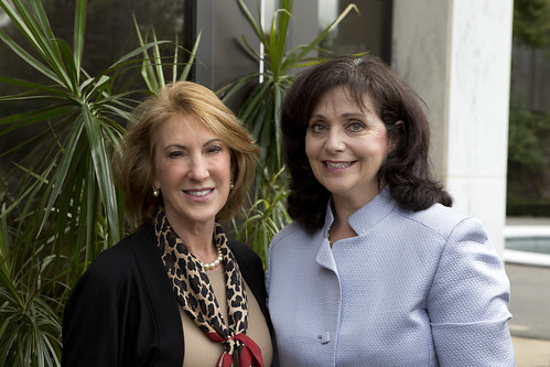 Keynote Speaker Carly Fiorina and Dr. Rachel Brem