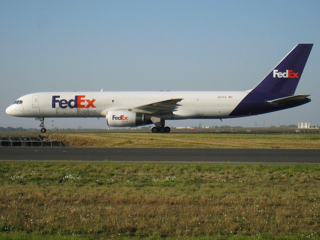 N917FD - B752 - FedEx