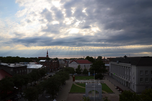 travel sun sunlight clouds europe estonia pärnu