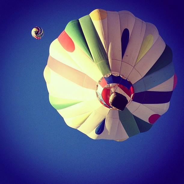 overhead #balloonfiesta