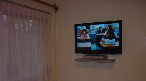 Tv Installation Sydney Samsung 32 Inch Shelf Wall Mounted Flickr