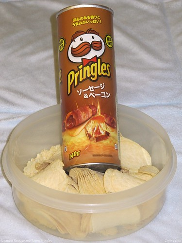 Japanese Sausage and Bacon Pringles by Coyoty