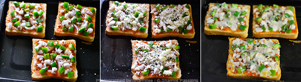 Bread Pizza Recipe - Step2