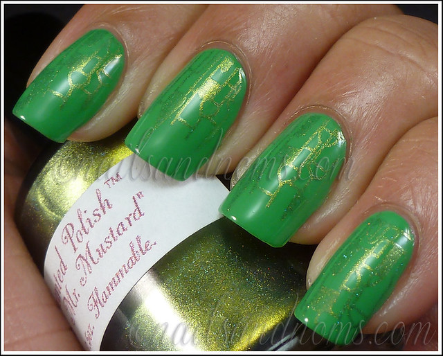 31DC2012 Day 4 Green Nails - 4