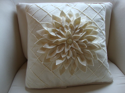 Amy Butler Mum pillow, restuffed
