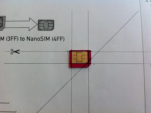 MicroSIM-ből NanoSIM #1