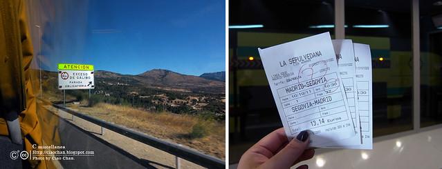 Hola Segovia~ 賽哥維亞。第一次看到建築奇蹟「羅馬水道橋」 R1043983