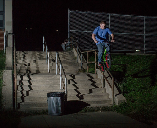 Mike Devlin double peg to icepick