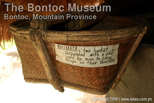 KHIMATA in The Bontoc Museum at Bontoc, Mountain Province