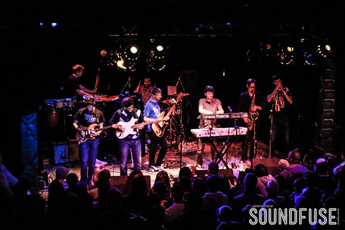 Snarky Puppy with Andreas Kapsalis and Goran Ivanovic at Reggie's-3