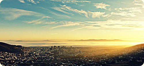 light love sunshine sunrise landscape southafrica cityscape capetown