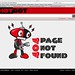 Small photo of Love Hotbot 404 page