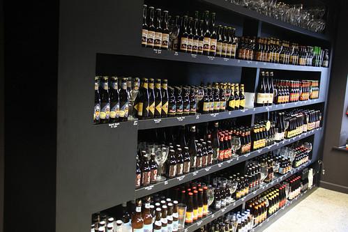 Beer Shop in Bruges