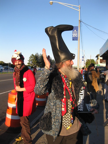 Vermin Supreme at Hofstra Debate