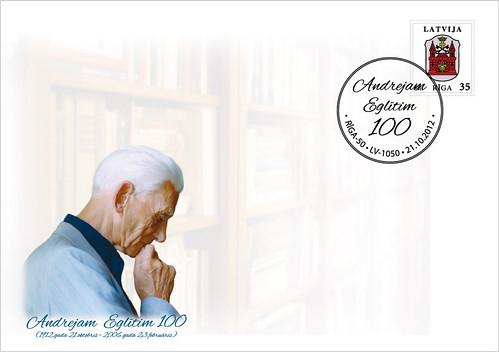 "Aploksne ""Andrejam Eglītim 100"""