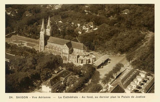 Saigon City Center - Notre Dame Cathedral 1900's