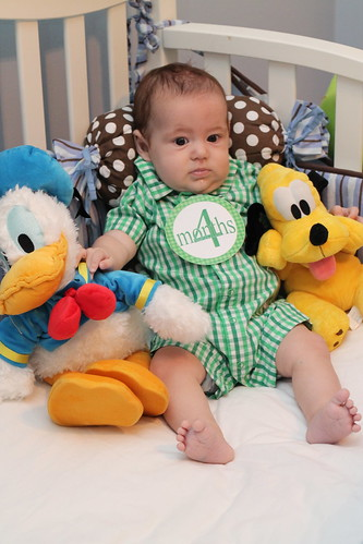 Noah 4 month photos
