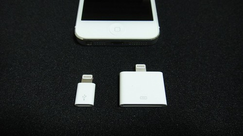iPhone5 & Lightning to Micro USB Adapter / 30-pin Adapter