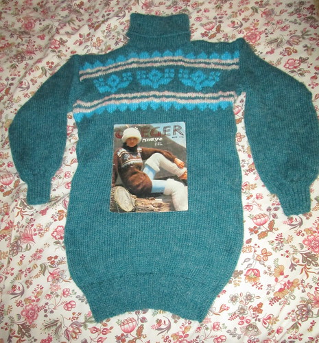 1970s knitted jumper