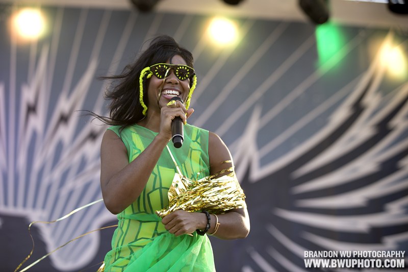 Santigold @ Virgin Mobile FreeFest 2012