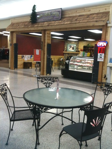 Coffee shop in the Pierre mall