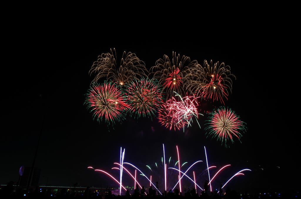 遲來的國慶煙火+10月15日煙火~圖多