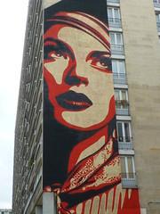 Obey : la Lady rue Jeanne d'Arc