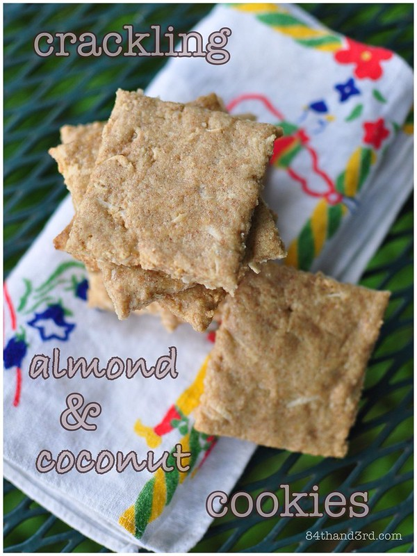 Almond & Coconut Cookies