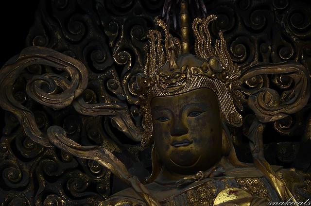 「韋駄天」 萬福寺 - 京都