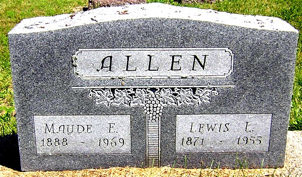 Header of Allen Lewis