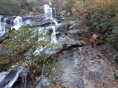 Travis and Emmy at Holcomb Creek Falls