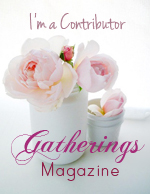 I contributed to Gatherings Magazine, Fall 2011... yay!