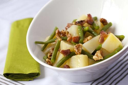 Ensalada tèbia de patates i mongetes 1