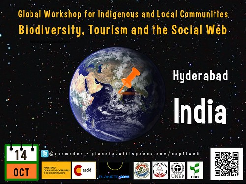 Global Workshop for Indigenous and Local Communities: Biodiversity, Tourism and the Social Web (Poster #4) #rtyear2012 #cop2012 #cop11