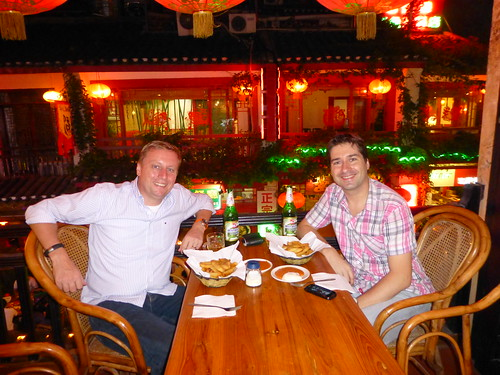 Danny and Marc in Yangshuo