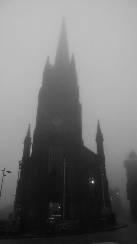 Edinburgh, autumn mist 05