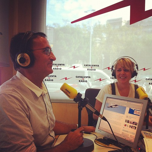 Amb en @xgraset a L'oracle de Catalunya Ràdio #igersbarcelona #igerscatalonia