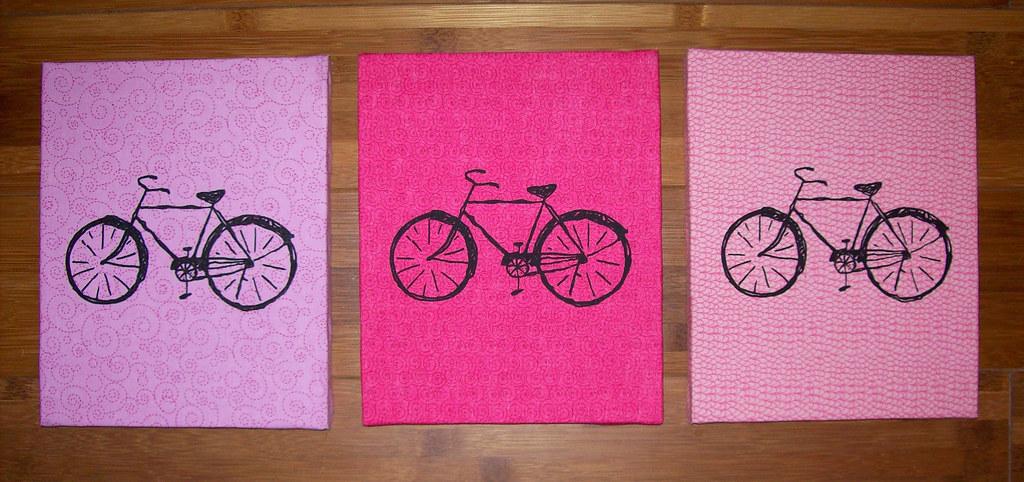 FutureLint bikes - pink
