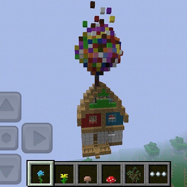House Of The Movie Up Build It On Minecraft Minecraft