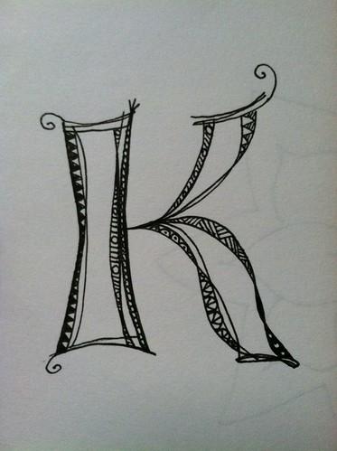 My Zenspirations Patterened Monogram