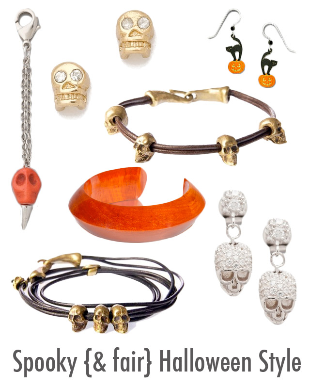 Halloween Accessories, spooky, my fair vanity, style blog, eco blog