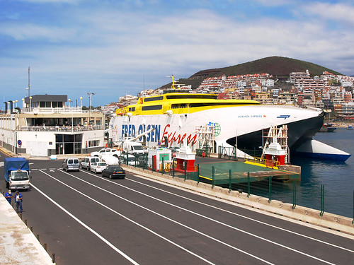 Fred Olsen Ferry, Los Cristianos, Tenerife