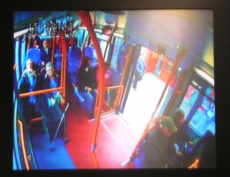 Camera in Bus