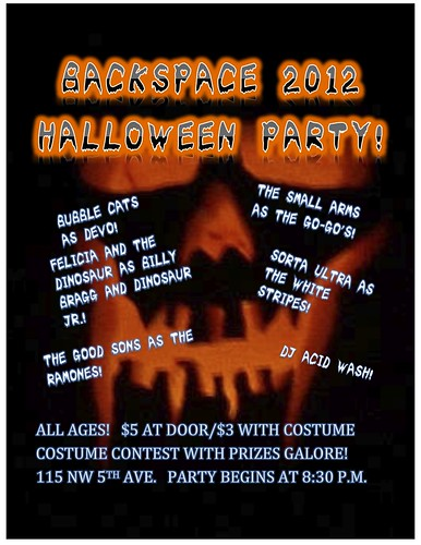 Backspace Portland Halloween Party