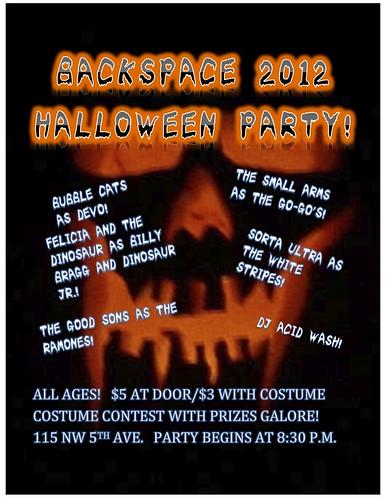 Backspace Portland Halloween Party